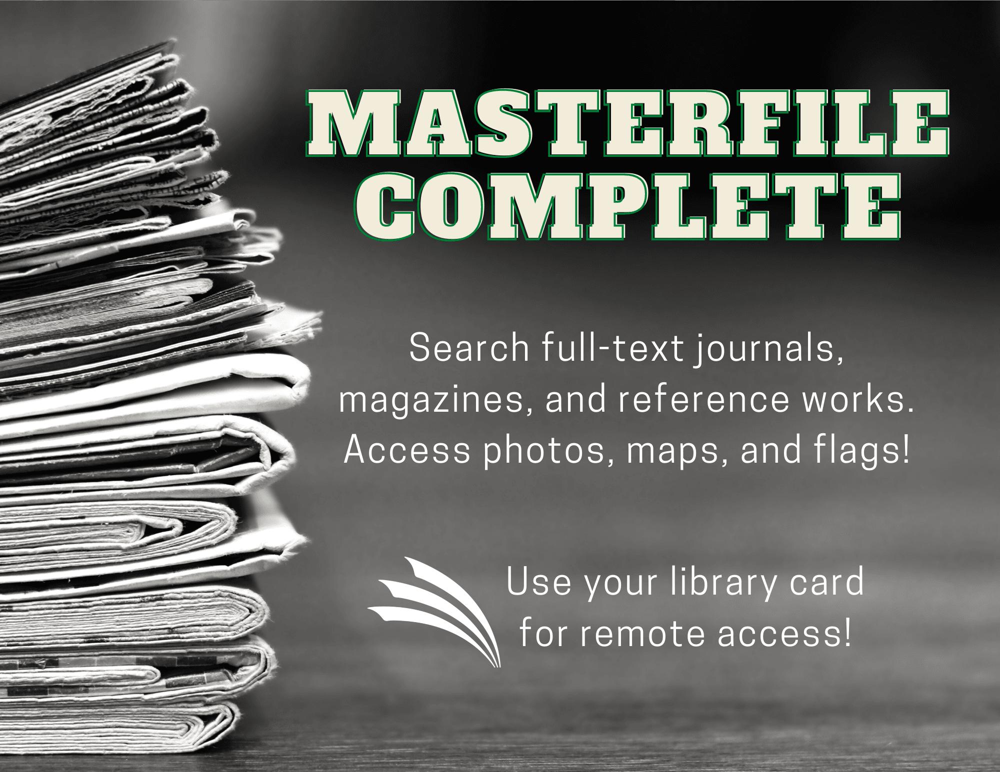 Master File