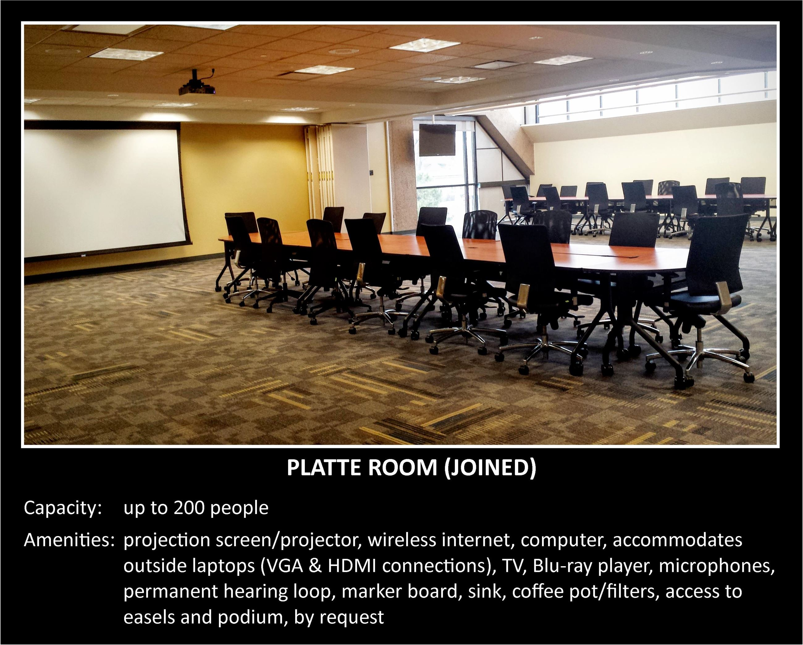 Platte Room - Joined