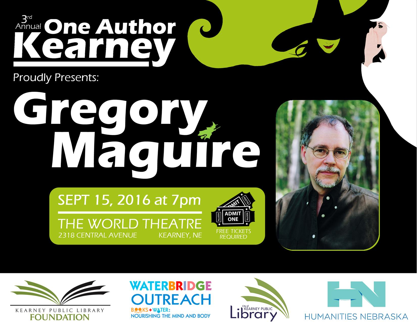 Gregory Maguire 2016
